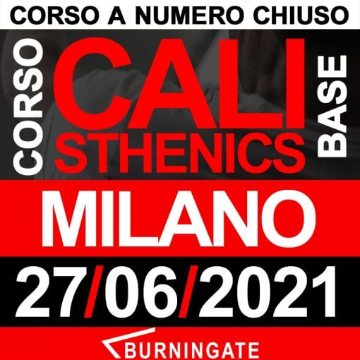 corso calisthenics milano