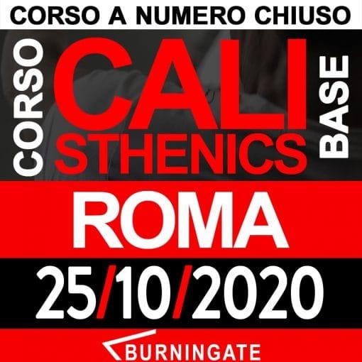 CORSO CALISTHENICS ROMA 25-ottobre-2020