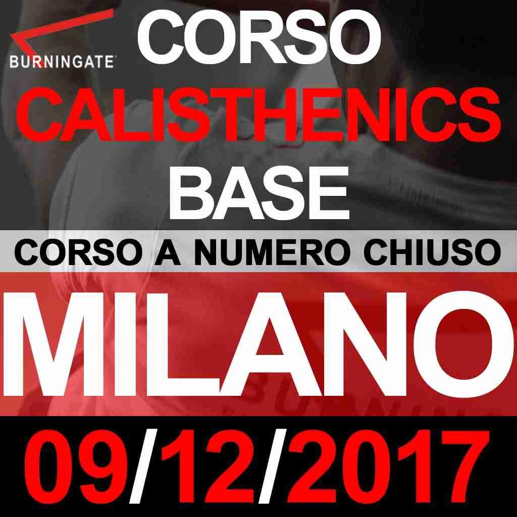 Corso calisthenics base milano burningate calisthenics for Corso stilista milano