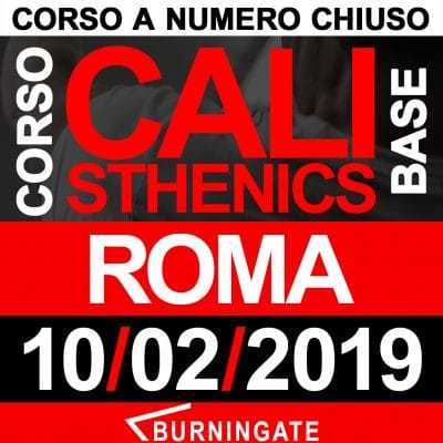 CORSO CALISTHENICS ROMA