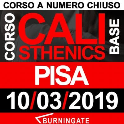 CORSO CALISTHENICS PISA