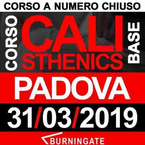 CORSO CALISTHENICS PADOVA