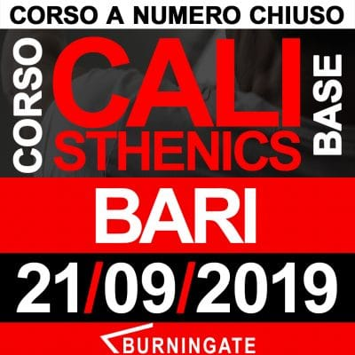 corso calisthenics bari