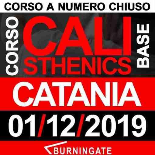 CORSO CALISTHENICS CATANIA 1 DICEMBRE 2019