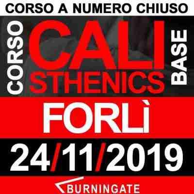CORSO CALISTHENICS FORLì 24 NOVEMBRE 2019