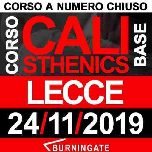 CORSO CALISTHENICS LECCE