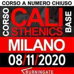 CORSO CALISTHENICS MILANO 08-novembre-2020